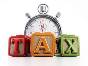 It's tax prep time!